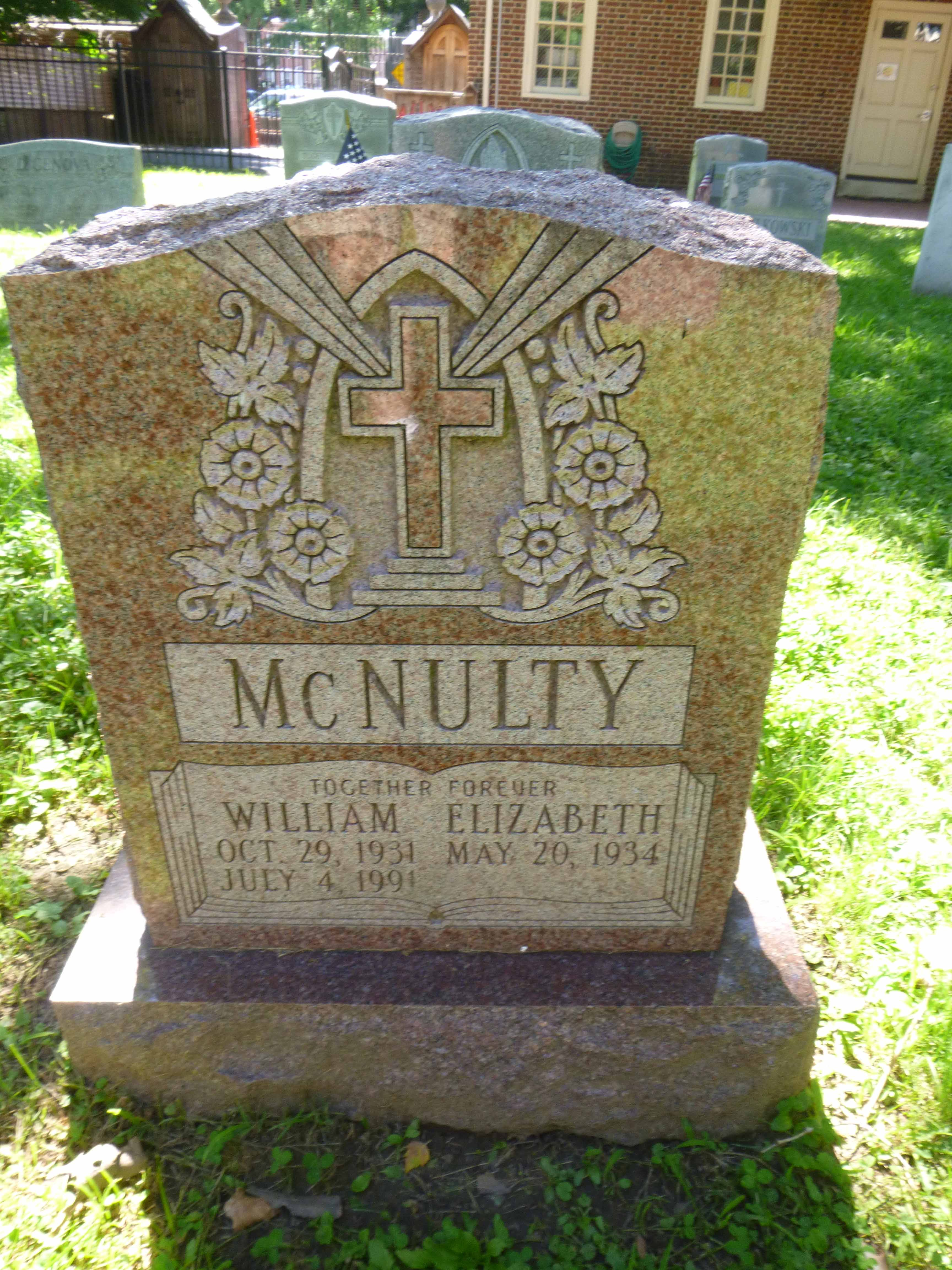 Read more about the article William and Elizabeth McNulty
