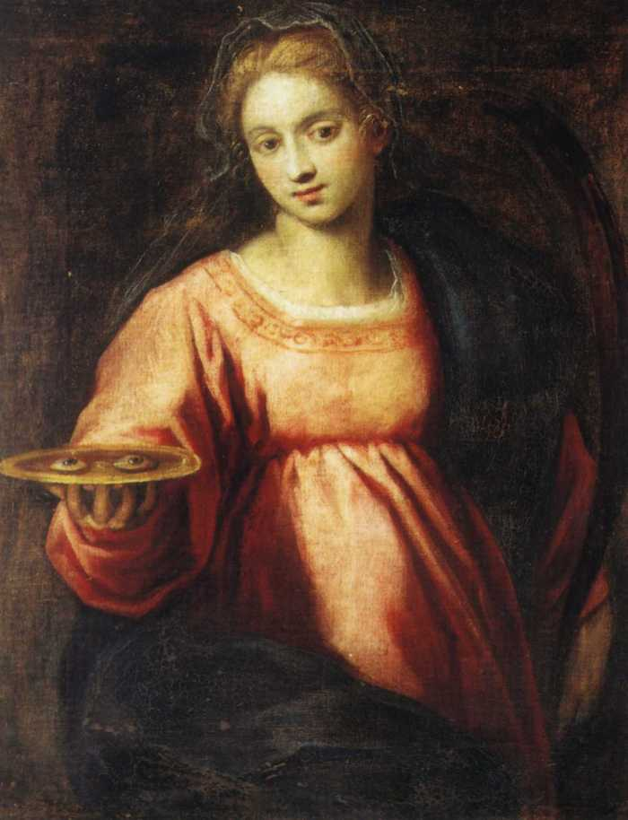 Saint Lucy, artist unknown