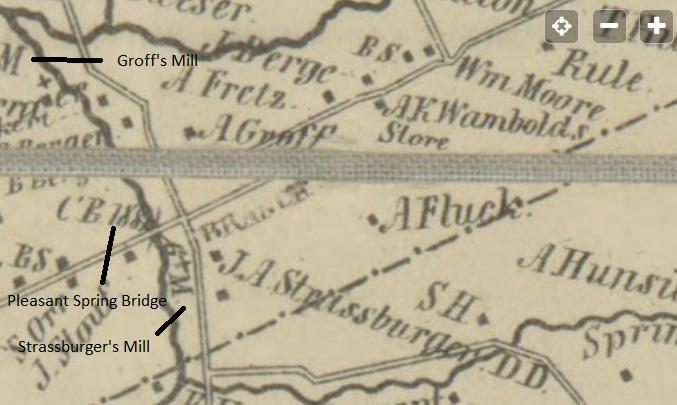 Bridgetown in 1850