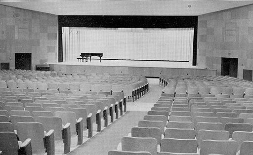 1954 School Auditorium