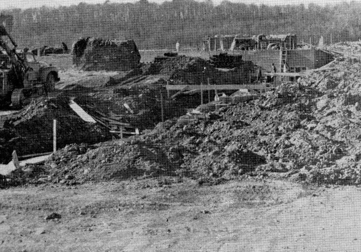 1954 School construction