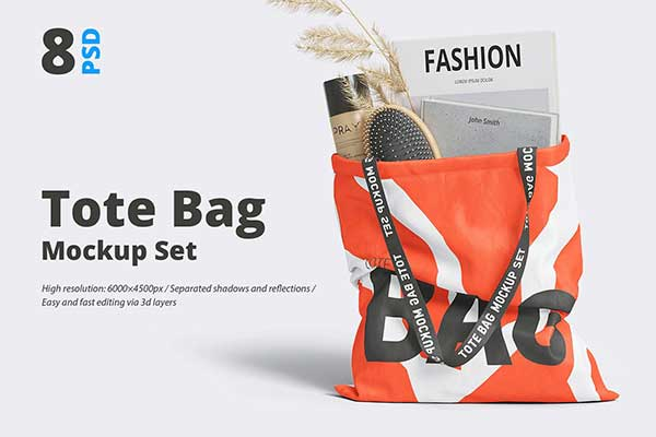 It is fully customizable where you can change the color of shoulder strap, base color of bag, tag artwork and customize the background as per your requirement. Tote Bag Mockup Free Presetdownload Com