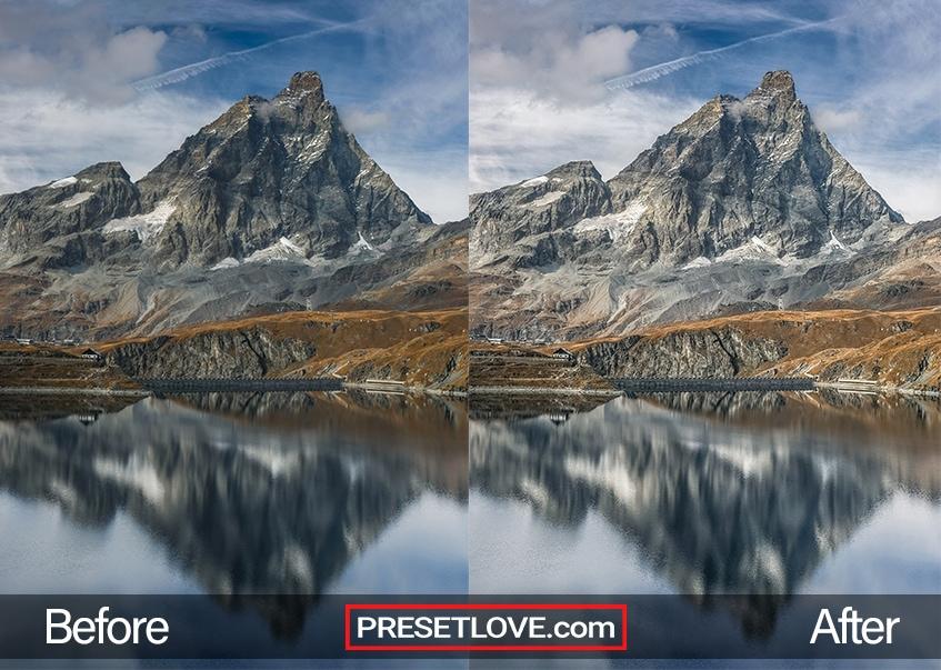 crisp mountains free preset