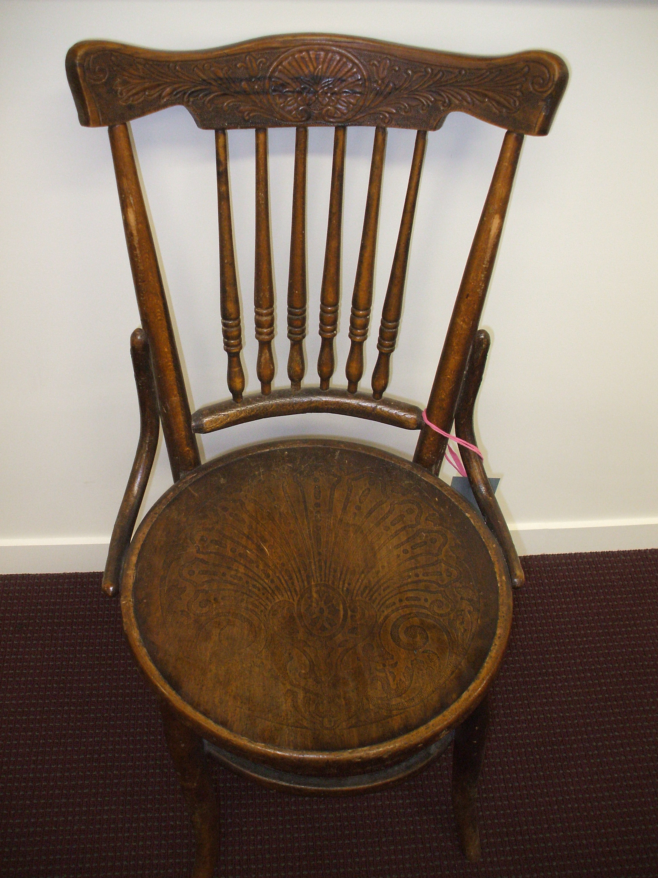 College Lounge Chair Artefact Of The Month Knox College Dining Room Chair