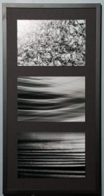 What I Hear You Saying, Rosetta, Barry Sherbeck, Photograph, stainless steel, aluminum, 2015, 32 x 16, Matthew 13, $375