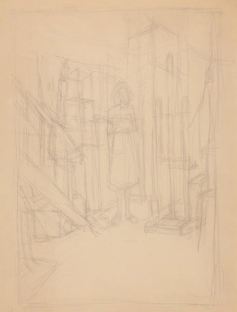 Alberto Giacometti, Annette dans l'atelier
