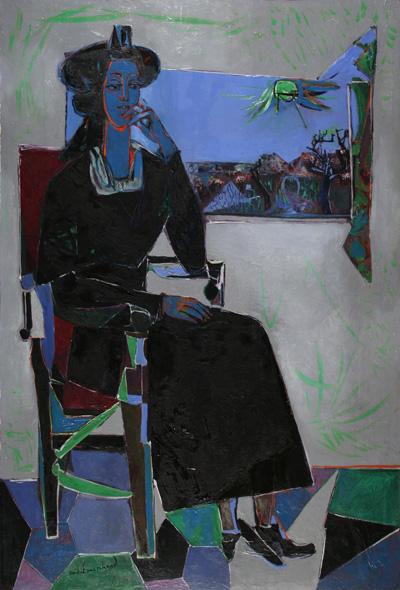 André Marchand, Arlésienne à la fenêtre