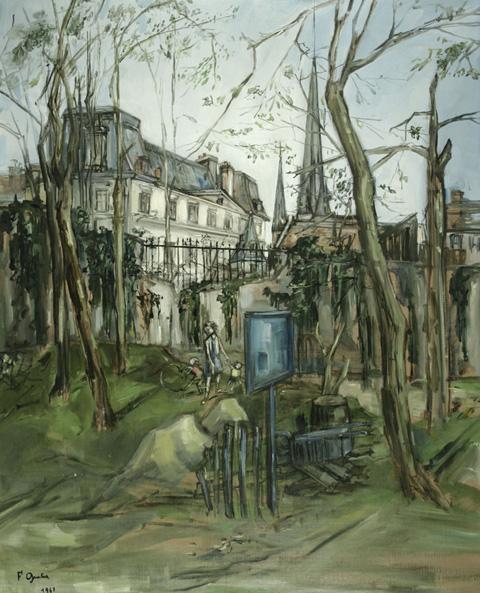 Francis Gruber, Le parc