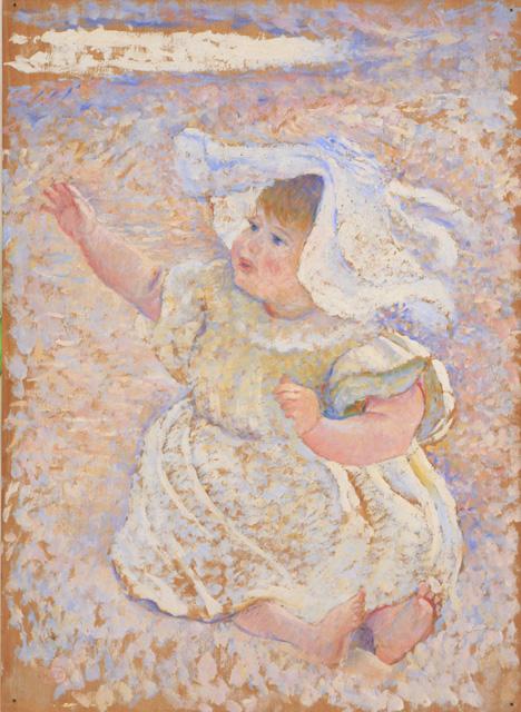 Henri-Edmond Cross, Etude pour Mère jouant avec son enfant