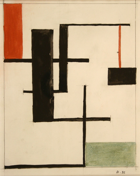 Jean Hélion, Composition, 1932