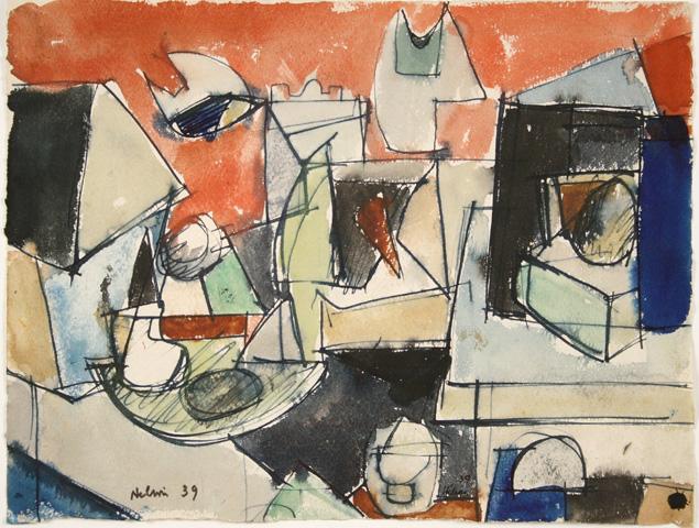 Jean Hélion, Composition, 1939