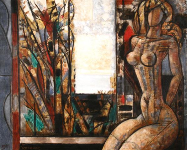 Tableau de MarcelGromaire : Nu à l'Automne