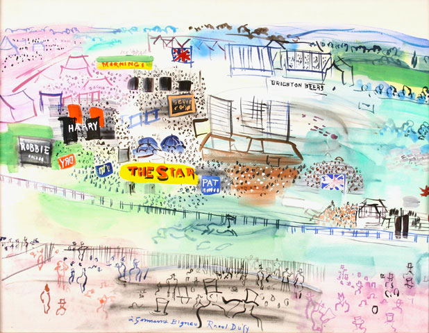 Raoul Dufy, Epsom la course
