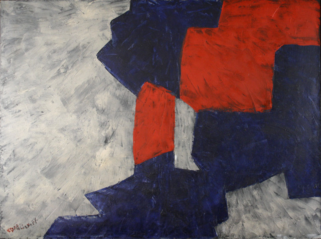 Serge Poliakoff : Composition abstraite, 1959