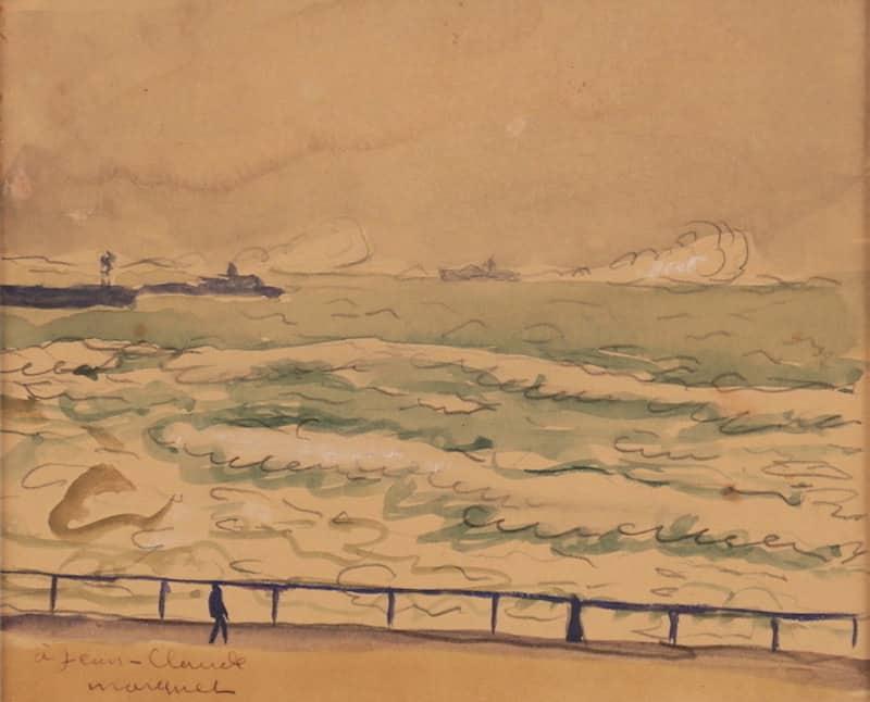Albert Marquet, Boulogne-sur-mer, C.1930, Aquarelle, 11,5 x 14cm
