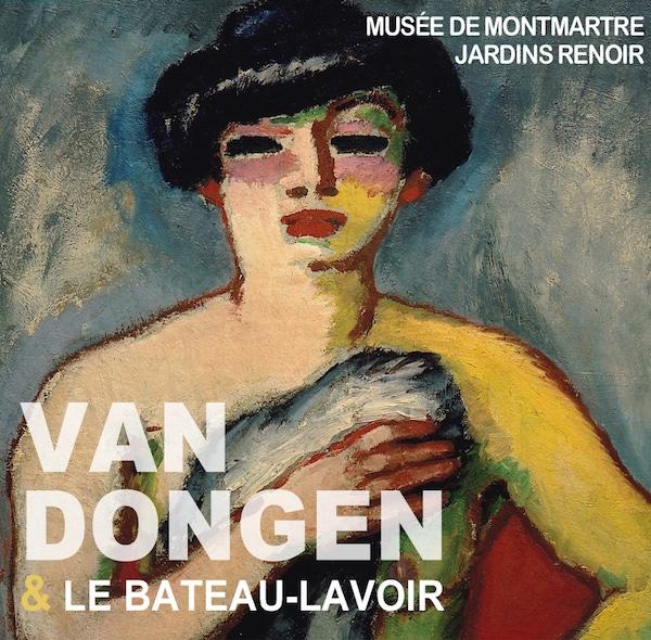 """Poster of the exhibition """"Van Dongen et le bateau-lavoir"""""""