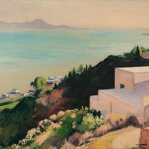28 FR Albert-Marquet-La-Plage-au-soleil-couchant-Sidi-bou-Said-C-1923