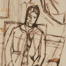 15 FR Alberto-Giacometti-Dapres-Cezanne-portrait-de-Madame-Cezanne-C-1934