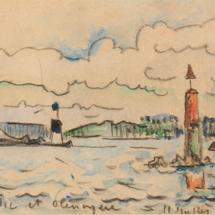 34 FR Paul-Signac-Concarneau-les-thoniers-1932