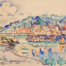 34 Paul-Signac-Concarneau-les-thoniers-1932