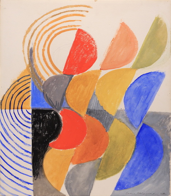 Sonia Delaunay, Composition n°534, 1955, Gouache