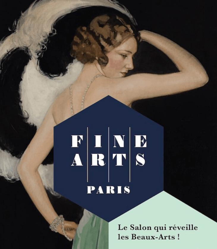 Affiche du salon Fine Arts Paris 2019