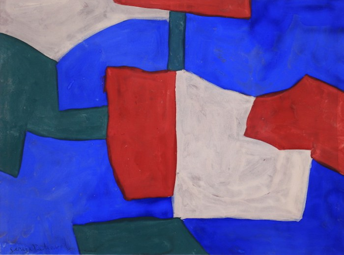Serge Poliakoff, Composition, 1964, Gouache