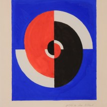 Sonia Delaunay, Rythme rouge et noir
