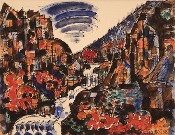 Marcel GROMAIRE, Le Torrent, 1942