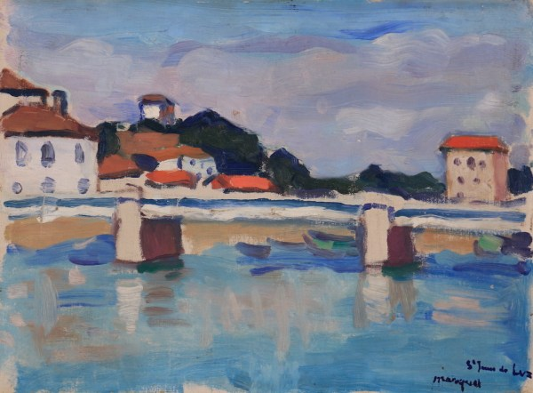 Albert Marquet, Saint-Jean-de-Luz le pont routier