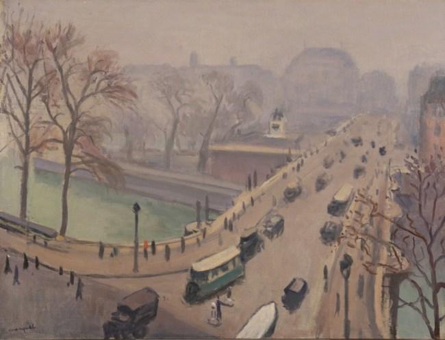 Albert MARQUET, Vue du Pont-Neuf, 1938