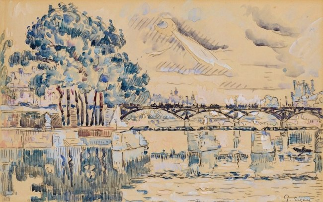 Paul SIGNAC, Paris, la Seine au Pont-des-Arts