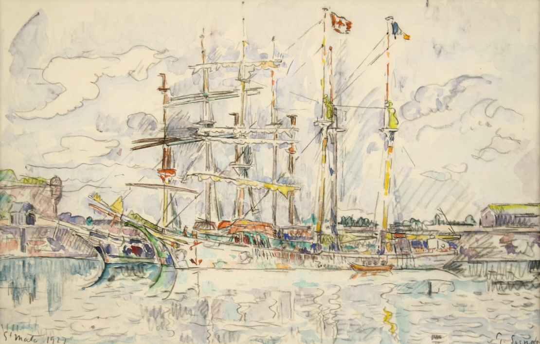 Paul Signac, Saint-Malo, 1927