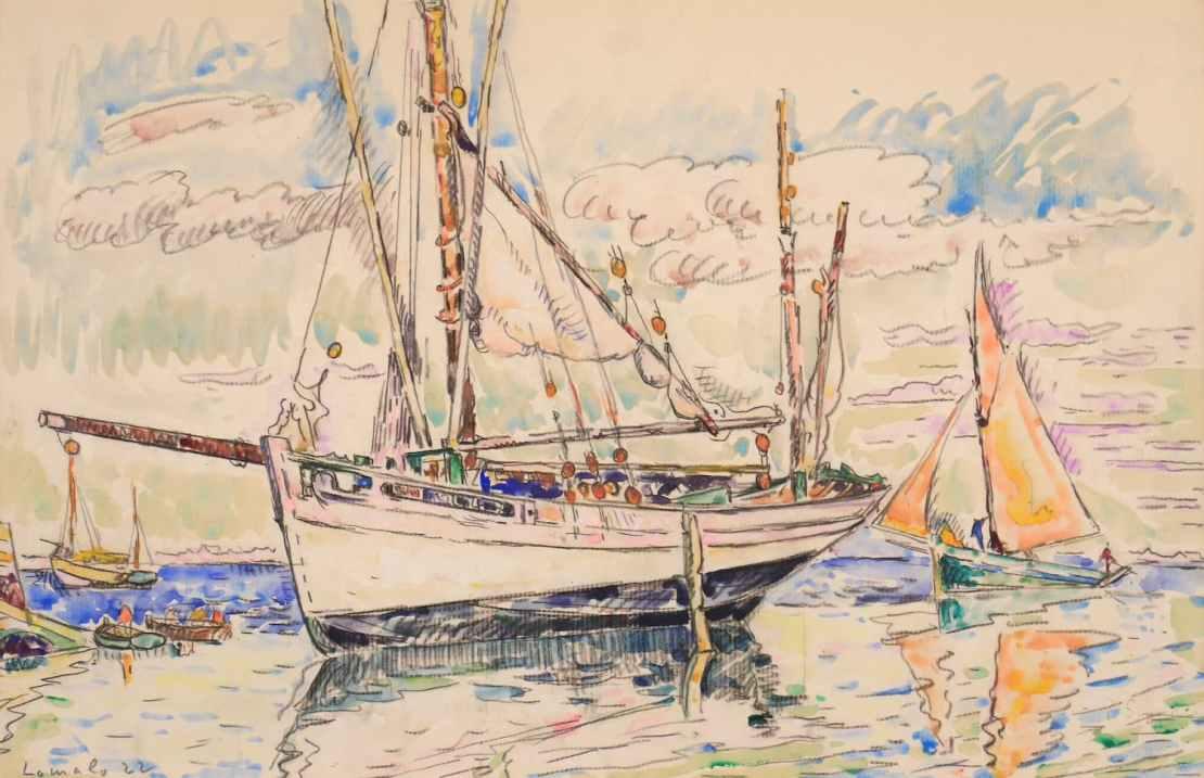Paul Signac, Lomalo, 1922