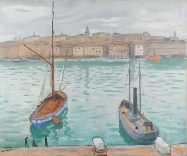 Albert Marquet, Marseille, les deux bateaux