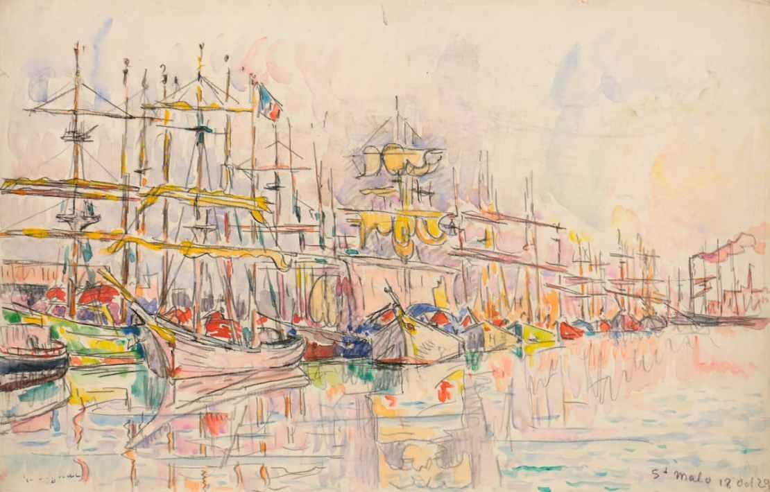 Paul Signac, Saint-Malo, 18 octobre 1929