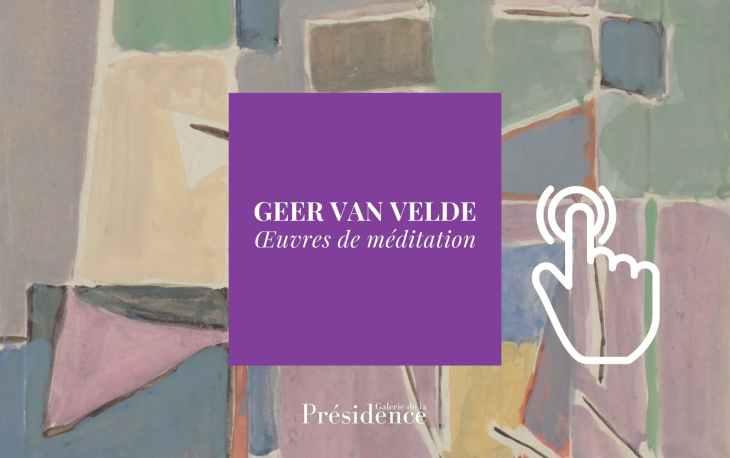 Catalogue of the exhibition Geer van Velde, Contemplation Works
