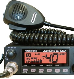 mobile cb radio johnny iii usa 12 24v orange  [ 1828 x 1407 Pixel ]