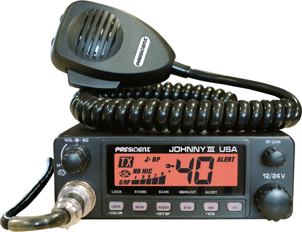 medium resolution of mobile cb radio johnny iii usa 12 24v orange