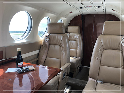 President Air Charter Cabin Comforts