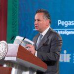 Santiago Nieto, titular de la Unidad de Inteligencia Financiera de la SHCP