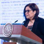 Laura Velázquez Alzúa, coordinadora nacional de Protección Civil.