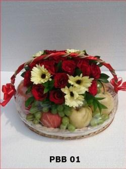 Parsel Bunga dan Buah