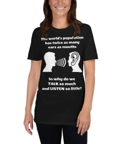 Why do we talk so much - T-shirt