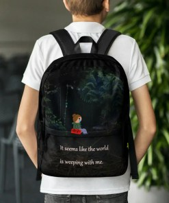 The world weeps - Backpack
