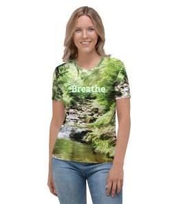 Breathe - Women's T-shirtBreathe - Women's T-shirt