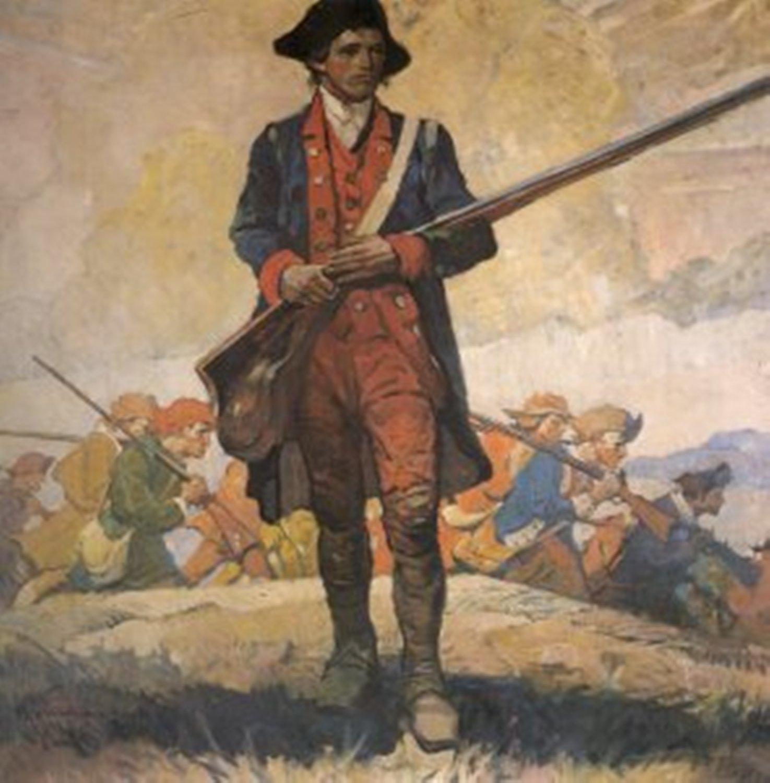 Typical American Army Revolutionary War Sol R Uniform