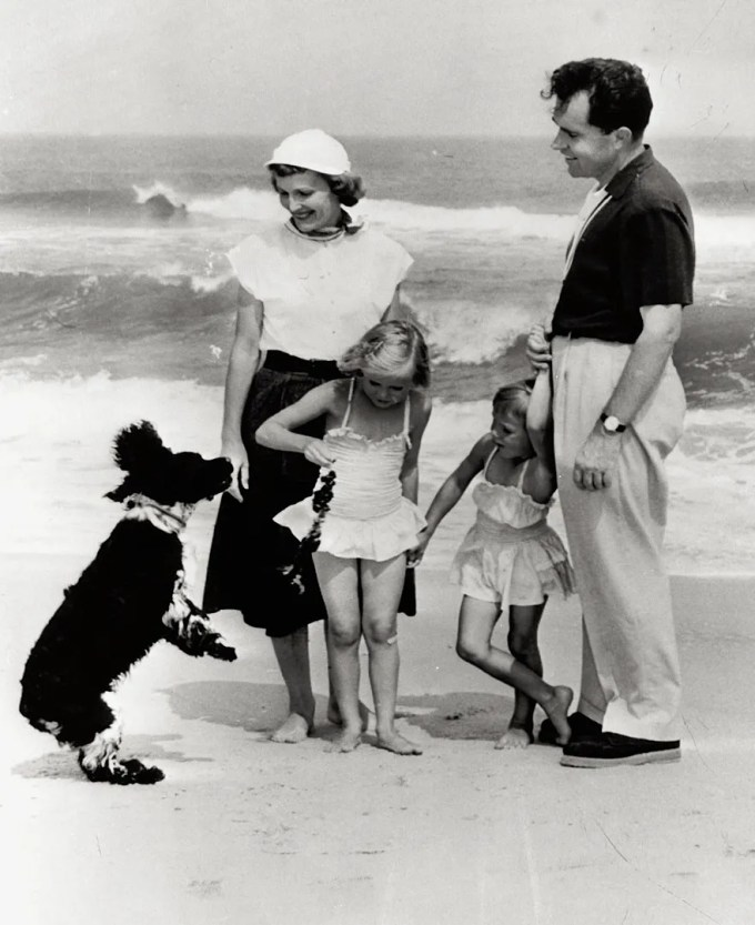 Richard Nixon's dog Checkers