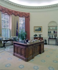 White House Oval Office | President Ronald Reagan