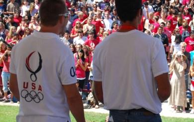 San Marcos fetes its Olympians